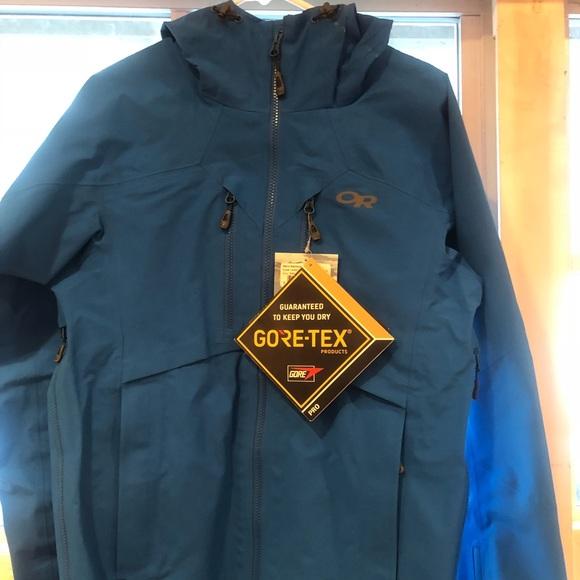 55ba2ad3338 NWT Men s Outdoor Research Gore Tex Jacket